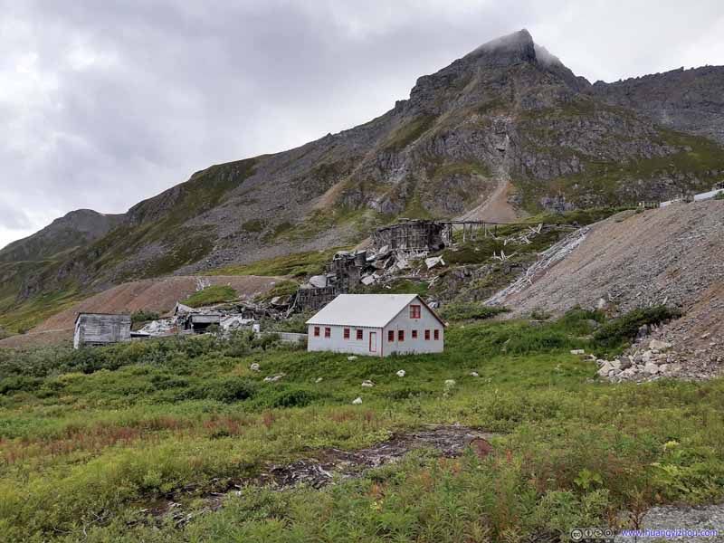 Independence Mine before Peak
