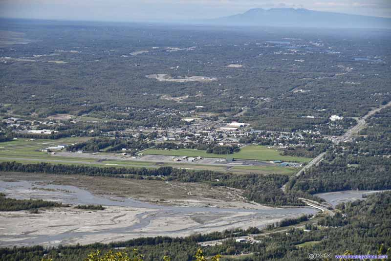 Palmer Municipal Airport before Downtown Palmer