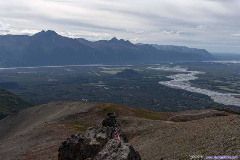 Chugach Mountains from Lazy Mountain