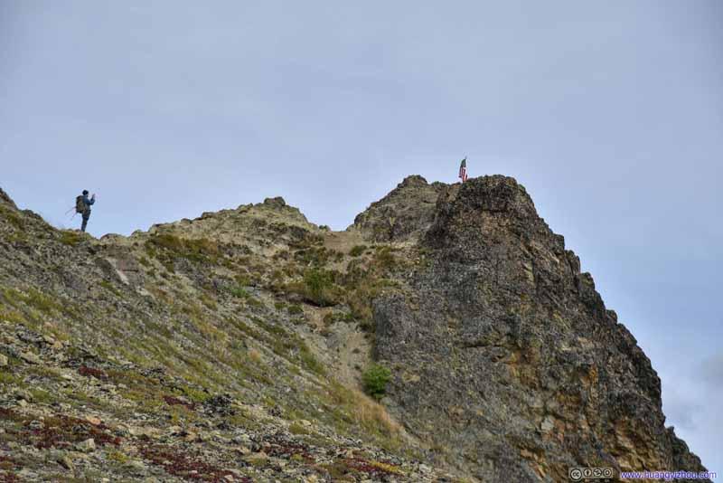 Summit of Lazy Mountain