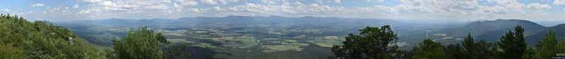Fields from Strickler Knob