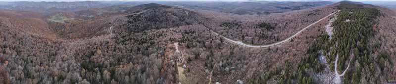 Overlooking Spruce Knob