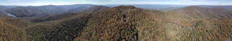 Mountains near High Knob