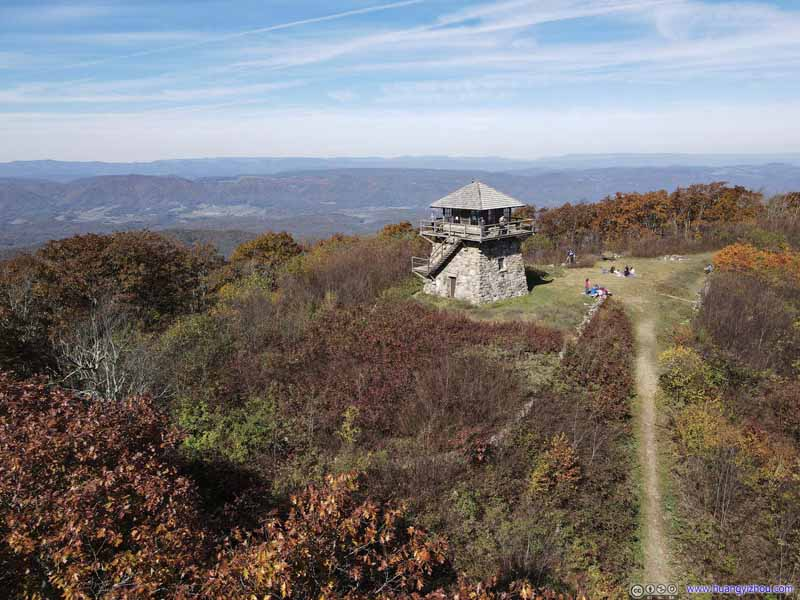 Overlooking High Knob Firetower