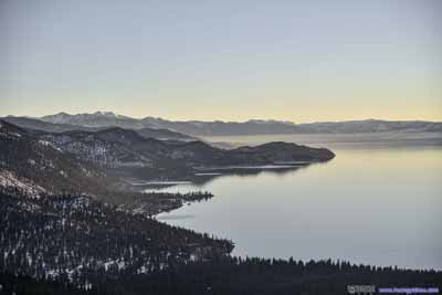 Mists over Lake Tahoe