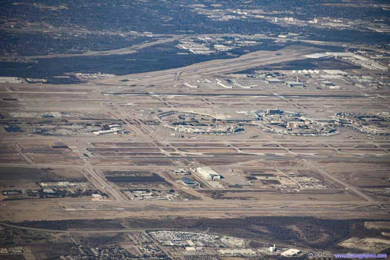 Overlooking Dallas Airport