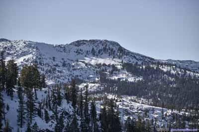 Mountains in Desolation Wilderness