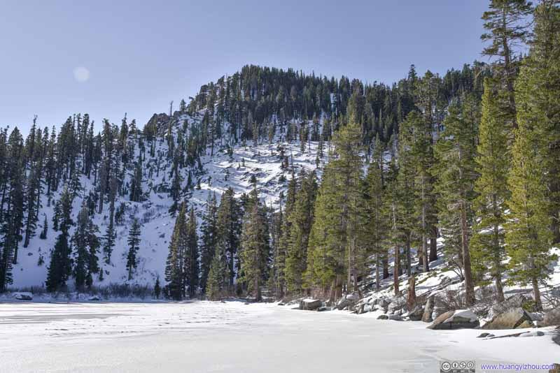 Maggies Peak from Granite Lake