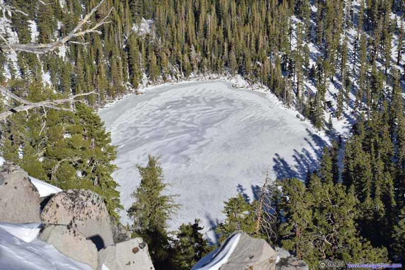 Overlooking Granite Lake