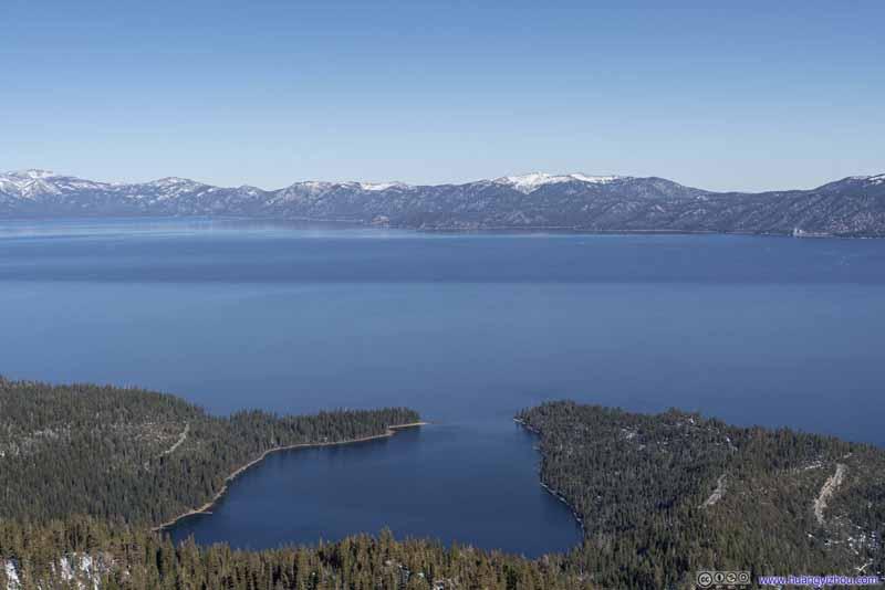 Lake Tahoe beyond Emerald Bay