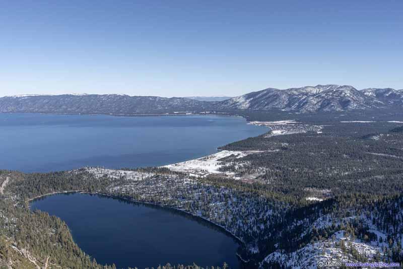 South Lake Tahoe and Cascade Lake