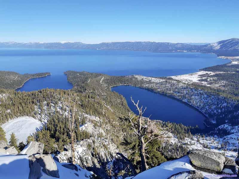 Emerald Bay and Cascade Lake