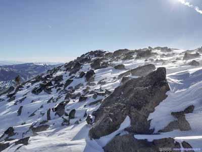 Rocks at Summit