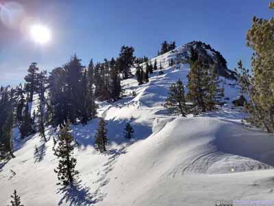 Rose Knob Peak Ahead