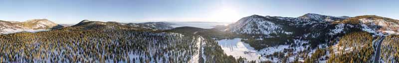 Lake Tahoe from Tahoe Meadow