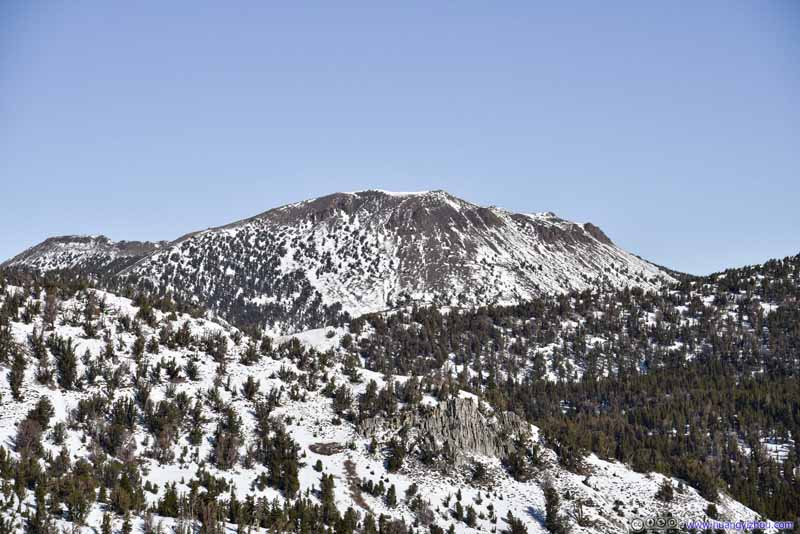 Mount Rose to the North