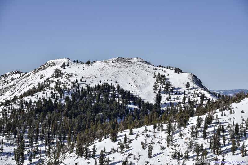 Rose Knob Peak from Pats Knob