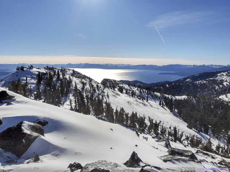 Lake Tahoe from Rose Knob Peak