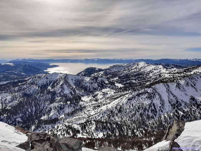 Lake Tahoe from Mount Rose