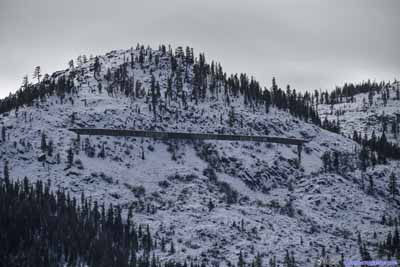 Railway up Donner Pass