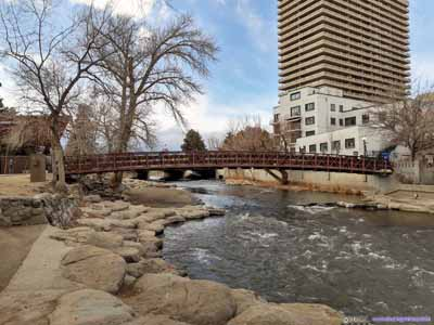 Truckee River by Wingfield Park