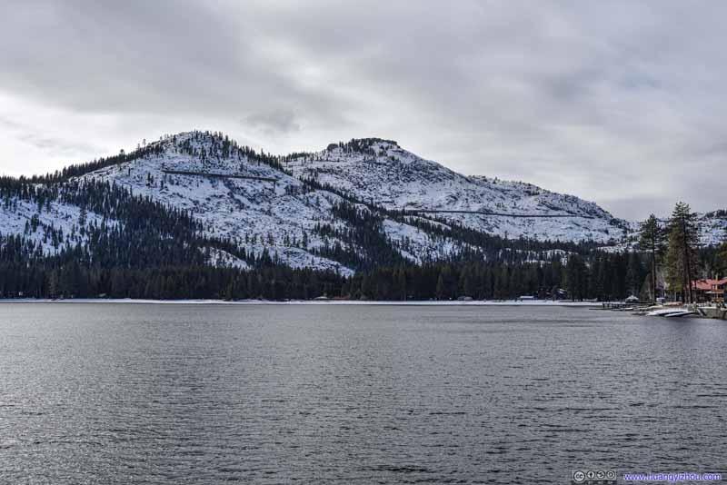 Donner Peak from Donner Lake