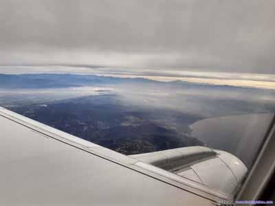 Mist over Santa Monica Mountains