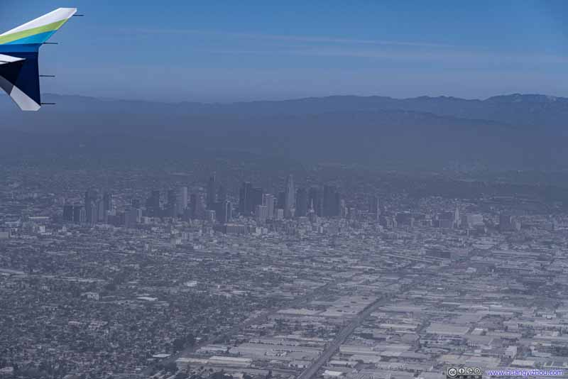 Distant Downtown Los Angeles