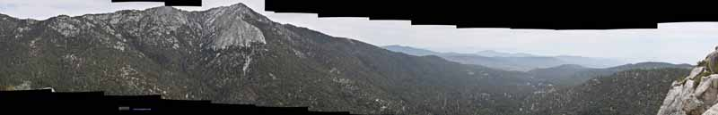 Mountains and Valleys from Suicide Rock