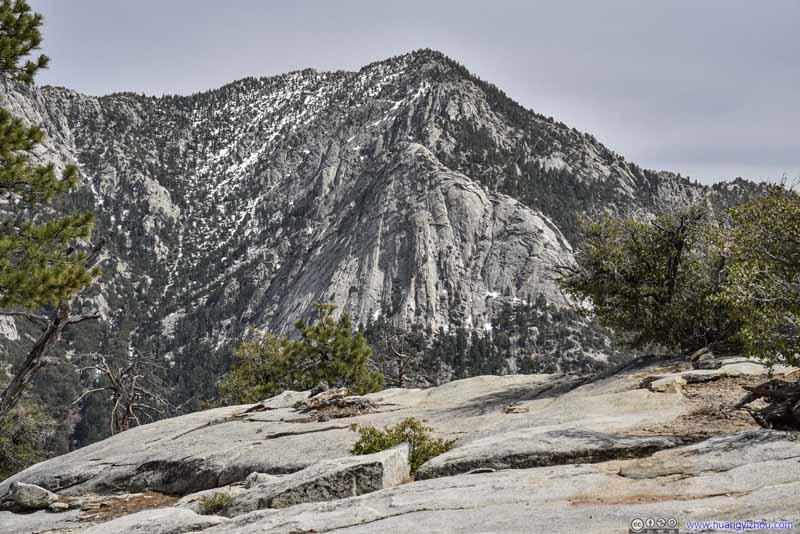 Tahquitz Peak from Suicide Rock
