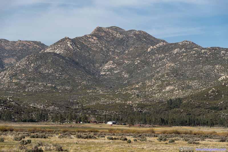 Farm before Spitler Peak