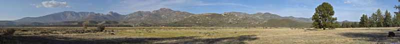 San Jacinto Mountains beyond Ranch