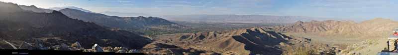Vista Point overlooking Coachella Valley