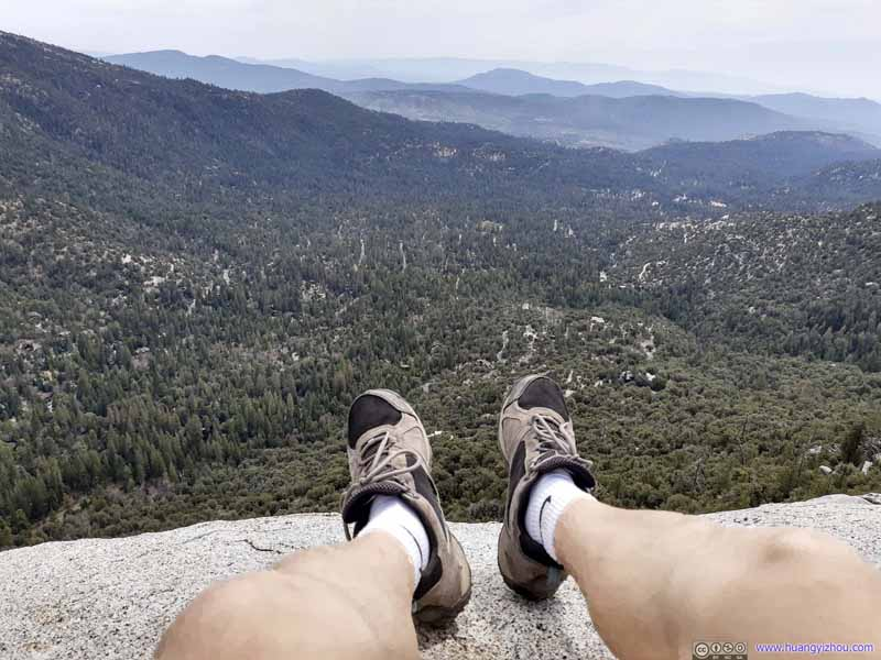 Relaxing on Suicide Rock