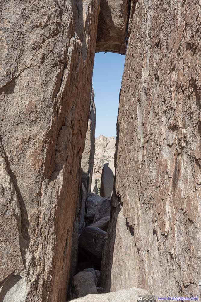 Gap between Cliffs