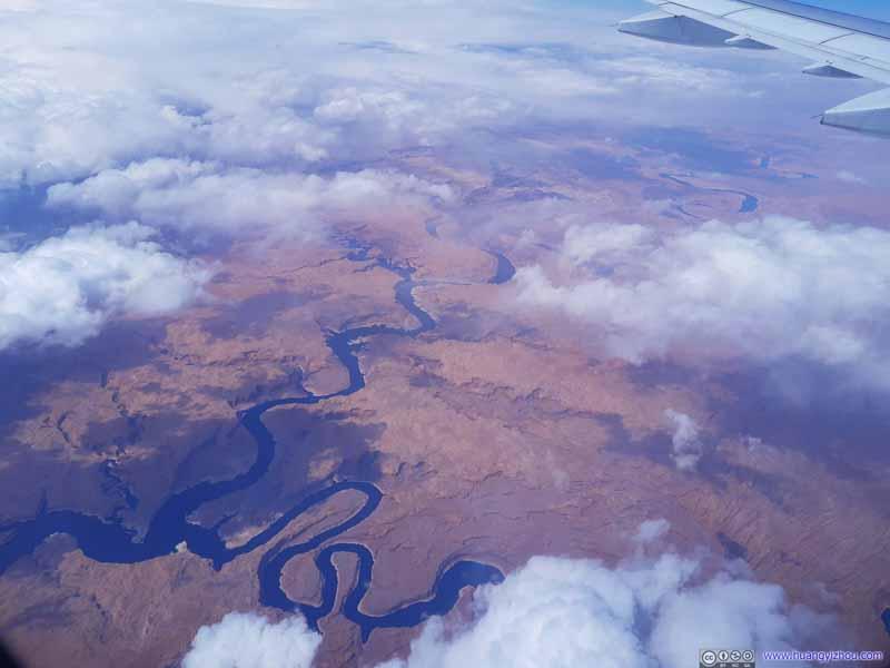 Confluence of San Juan River and Colorado River