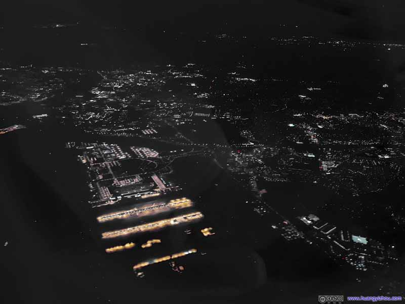 Overflying Dulles Airport