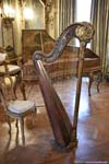 Harp in Musical Room