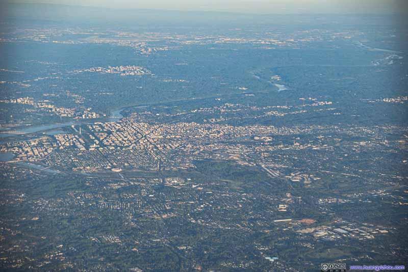 Overlooking Washington DC