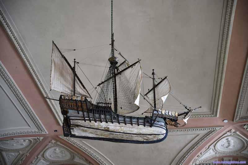 Hanging Boat