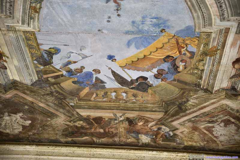 Casino Ceiling Painting