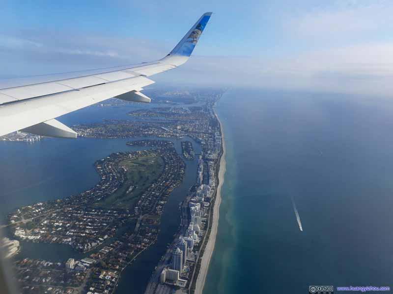 Overlooking Miami Beach