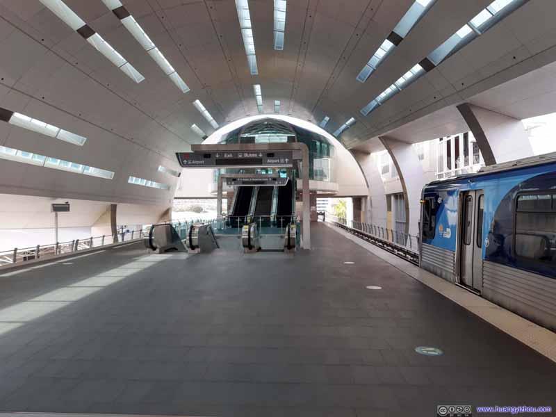 Miami Airport Metrorail Station