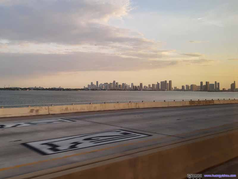 Miami Skyline from Julia Tuttle Causeway