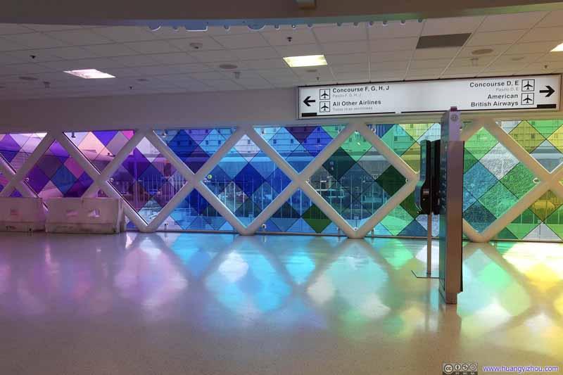 Miami Airport Walkway