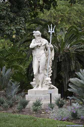 Sculpture of Poseidon