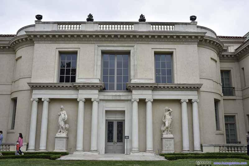 European Art Gallery Facade