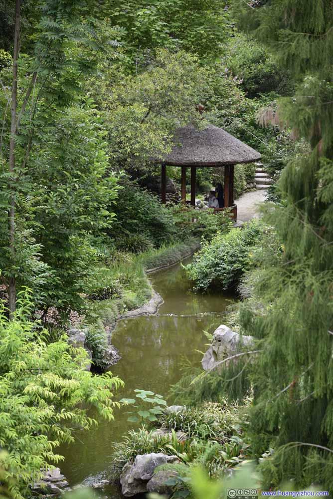 Pavilion along Creek