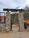 Gate at Trailhead