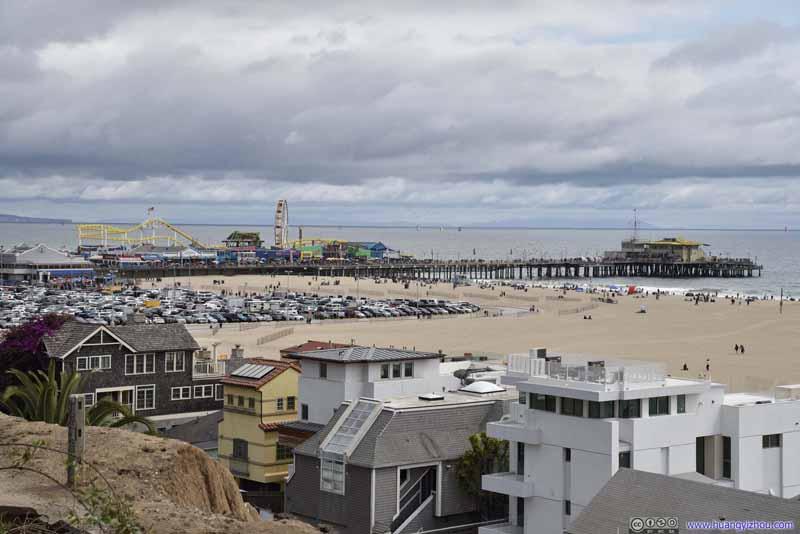 Distant Santa Monica Pier